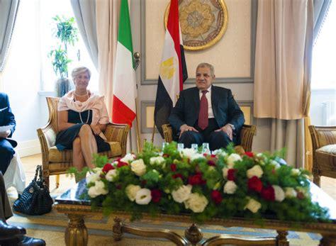 consolato egiziano a roma pinotti egitto paese strategico per stabilit 224 mediterraneo