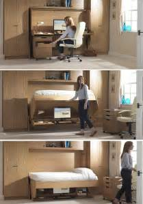 Desk For Small Rooms Bed Desk Combos Save Space And Add Interest To Small Rooms