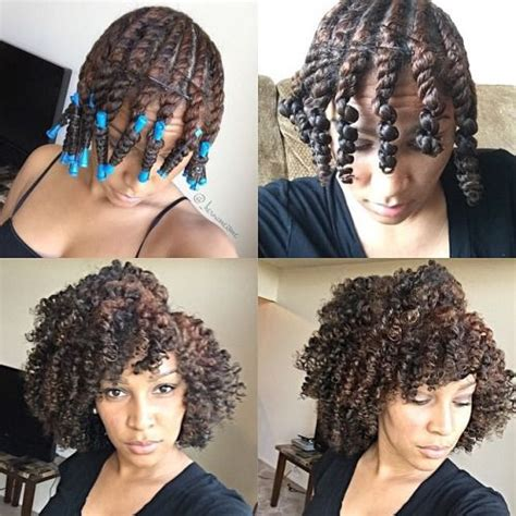permanent wave 4c hair results 183 best natural hair roller set images on pinterest