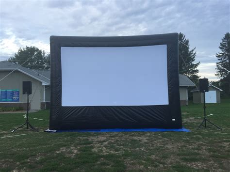 inflatable movie screen rentals ottawa blow up screen