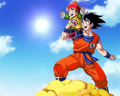 imagenes de gohan y goku goku and gohan wallpaper no text by brusselthesaiyan on