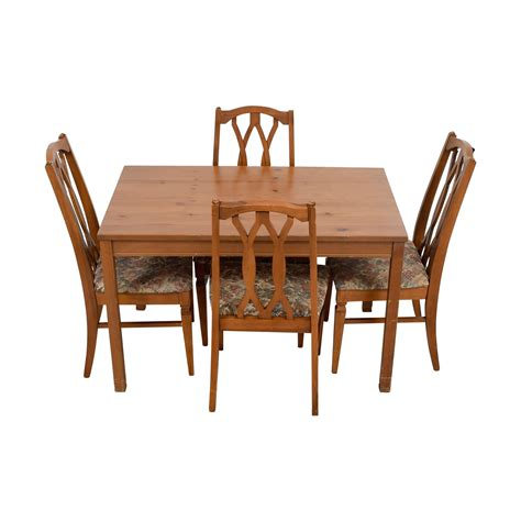 Kitchen Table Sets With Upholstered Chairs Dining Sets Used Dining Sets For Sale