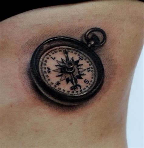 black and grey compass tattoo black and grey compass tattoo on right forearm