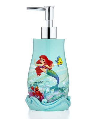 little mermaid bathroom accessories disney bath accessories little mermaid shimmer and gleam