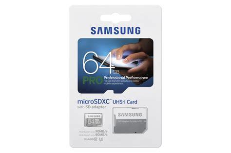 Samsung Sdxc Pro Class 10 90mbs 64gb Mb Sg64d samsung micro sdxc 64gb class 10 pro mb mg64ea eu t s bohemia