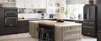 Kitchen Design Black Appliances be bold with black stainless steel appliances kitchenaid