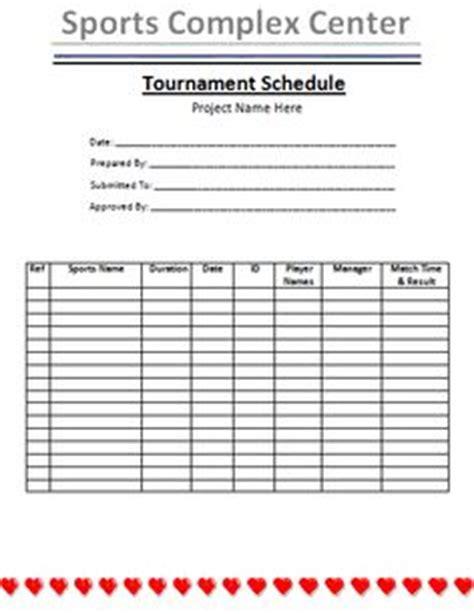 sports schedule calendar template schedule templates templates and calendar on