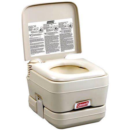coleman toilet coleman portable flush toilet walmart