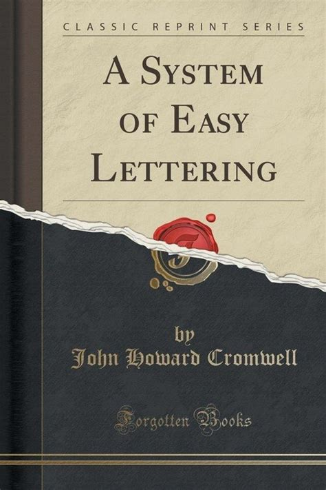 mechanism of the heavens classic reprint books a system of easy lettering classic reprint cromwell