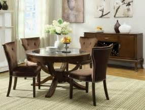 New Dining Room Sets Modern Round Dining Room Sets House Design Ideas