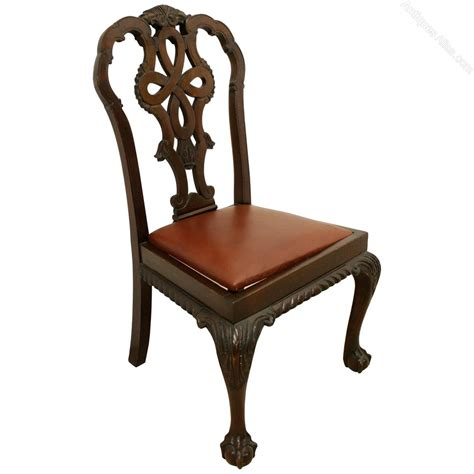 style dining chairs sydney set of 10 chippendale style mahogany dining chairs