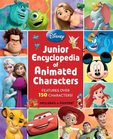 disney picture books junior encyclopedia of animated characters disney books