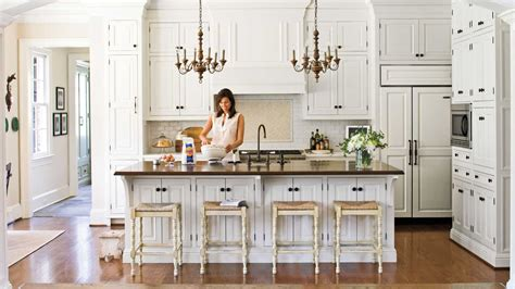 Southern Kitchen Design Crisp Classic White Kitchen Cabinets Southern Living