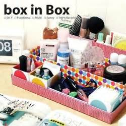 Organizer Kotak Organizer Make Up Organizer Kotak Kosmetik makeup organizer diy multi function makeup perfume organizer diy storage box ebay diy