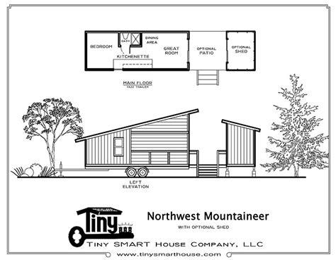 stationary tiny house plans northwest mountaineer