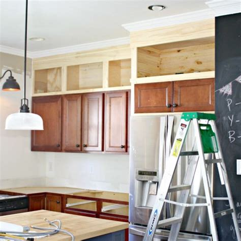 Kitchen Cabinets How To Build Cabinets Decorating Above Above Kitchen Cabinet Storage Ideas