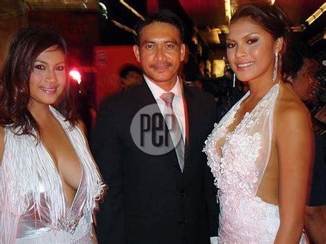 film semi thailand diana zubiri diana zubiri and juliana palermo at the 2007 bangkok