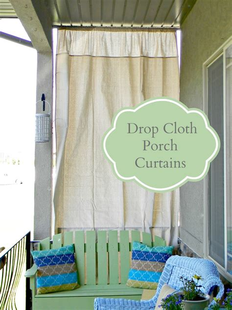 drop cloth curtains for patio drop cloth curtains pictures