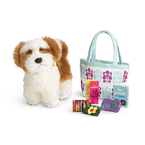 american doll puppy american kanani s doll accessories barksee tote for kanani ebay