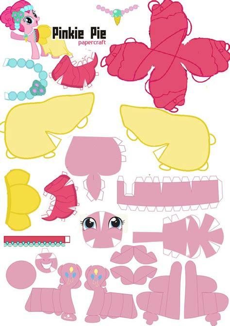 papercraft pinkie pie royal wedding by oskarek11