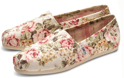 toms shabby chic shabby chic floral print toms shoes fashion