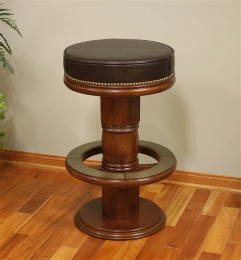 S Shaped Bar Stools by Shaped Bar Stool With Brown Leather Seating And