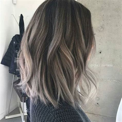 pictures of grey hair with highlights 1000 ideas about gray highlights on pinterest gray hair