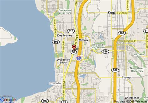 seattle map kent crossland seattle kent des moines kent deals see hotel