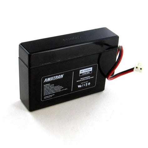 12v 0 8ah home alarm battery by amstron www voltdepot