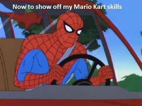 Mario Kart Memes - spider man meme mario kart by smashingstar64 on deviantart