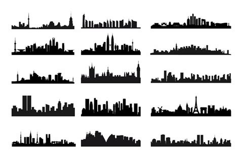 new york city skyline silhouette tattoo