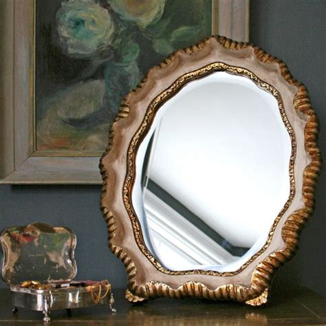 vintage dressing table accessories gold carved dressing table mirror from graham and