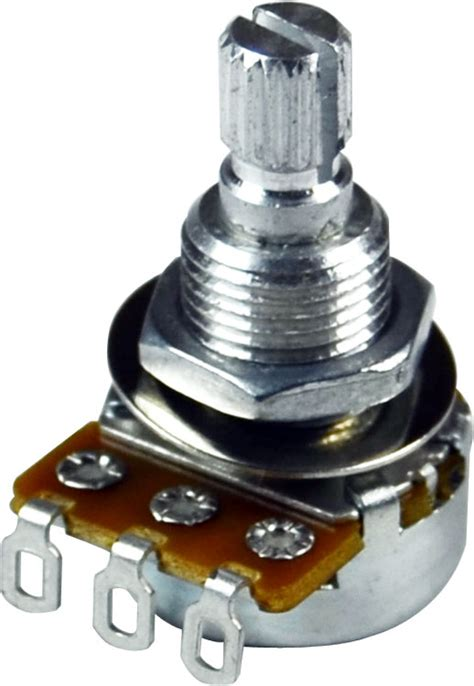 guitar 100k resistor mojotone 100k audio shaft guitar potentiometer