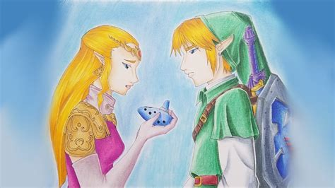 Link Time Fabsugar Want Need 46 by Drawing Princess Link Ocarina Of Time