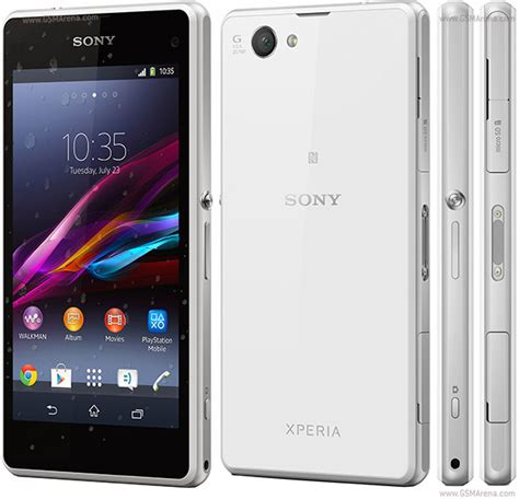 sony xperia z1 compact pictures official photos