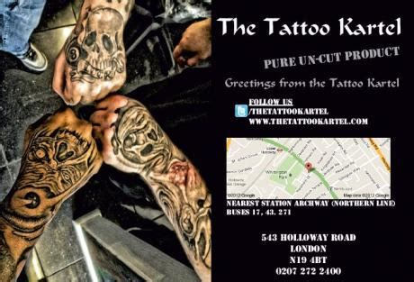 tattoo removal north london the tattoo kartel the london tattoo company art and design