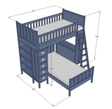 bunk bed design plans diy bunk beds with stairs woodworking projects plans