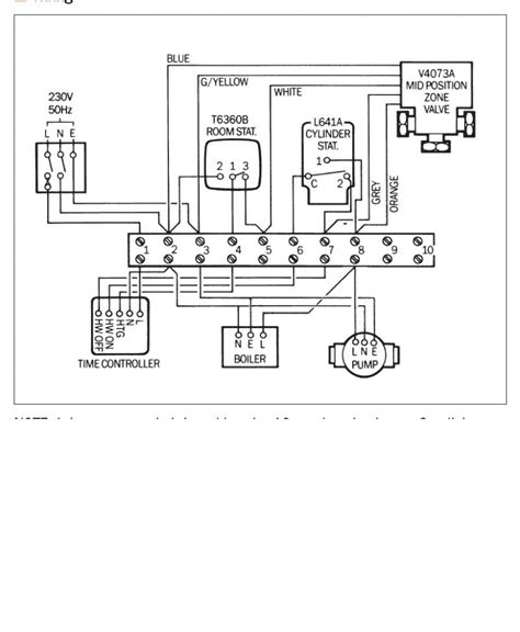 central heating wiring diagram diynot forums
