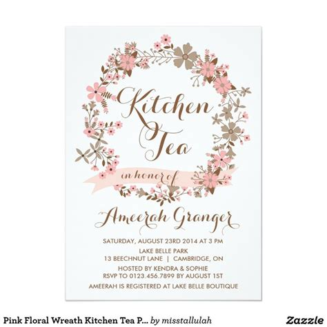 kitchen tea invites ideas 1000 ideas about kitchen tea invitations on pinterest