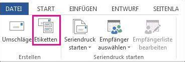 Flaschenetiketten Drucken Word by Erstellen Und Drucken Von Etiketten Word