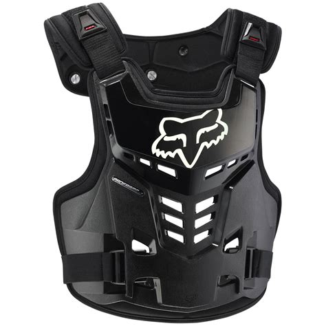 fox motocross body armour fox racing new mx proframe lc black chest protector guard
