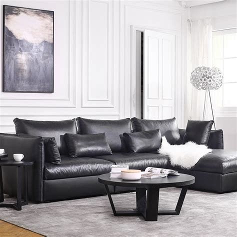 Hot Sale Modern Leather Sofa Set Living Room Sectional Living Room Sectional Sofas Sale