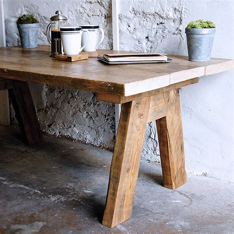 Farmhouse Coffee Table Reclaimed Wood Farmhouse Coffee Table By Revive Joinery Notonthehighstreet