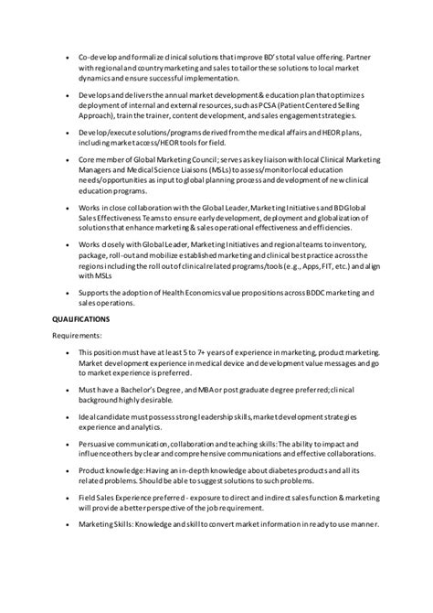 marketing manager description marketing manager description