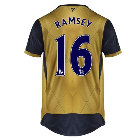 arsenal jerseys puma arsenal ramsey 16 away 15 16 replica soccer