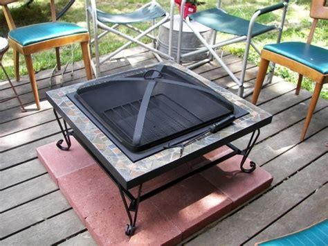 Fire Pit Mat For Wood Deck Fire Pit Ideas Pit Mat For Wood Deck