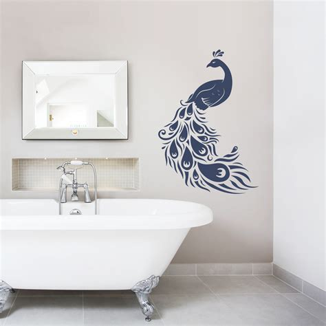 peacock wall stickers peacock wall decal roselawnlutheran
