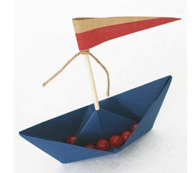 origami boat with anchor nautical baby shower origami boat with treats baby