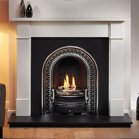 traditional fireplace gallery brompton limestone fireplace with regal cast iron