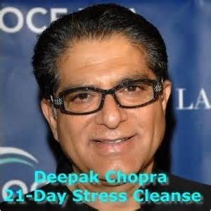 Deepak Healthy Detox by Dr Oz Deepak Chopra 21 Day Stress Cleanse Sherri
